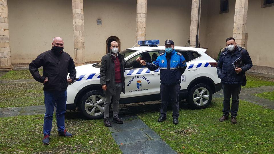 Cangas del Narcea ya cuenta con un nuevo vehículo policial