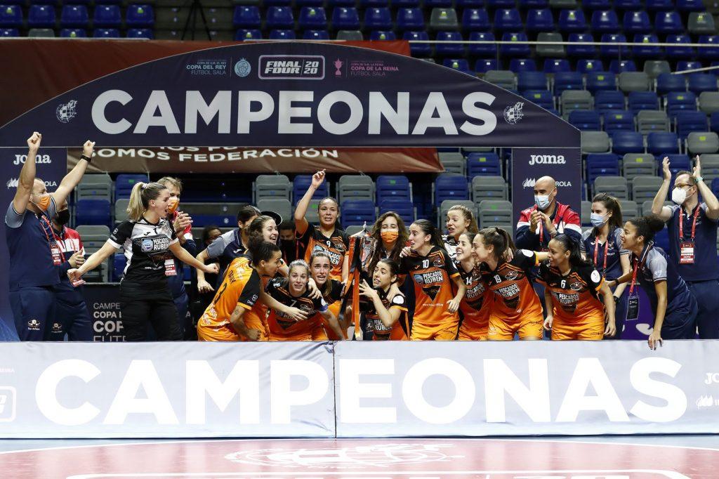 El Burela FS Femenino, Campeón de la Copa de la Reina de Fútbol Sala
