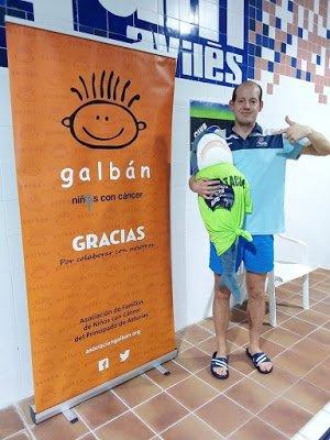 """CN Villa de Navia: """"éste era un Campeonato muy importante para nuestro nadador Alejandro de cara a poder conseguir la mínima para las Sordolimpiadas"""""""