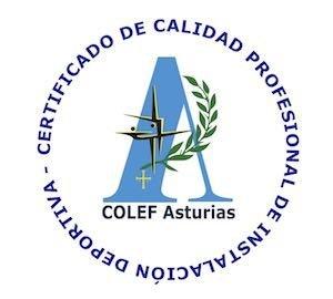 El Ayuntamiento de El Franco recibirá el Sello de Calidad Profesional de Instalaciones Deportivas de COLEF Asturias