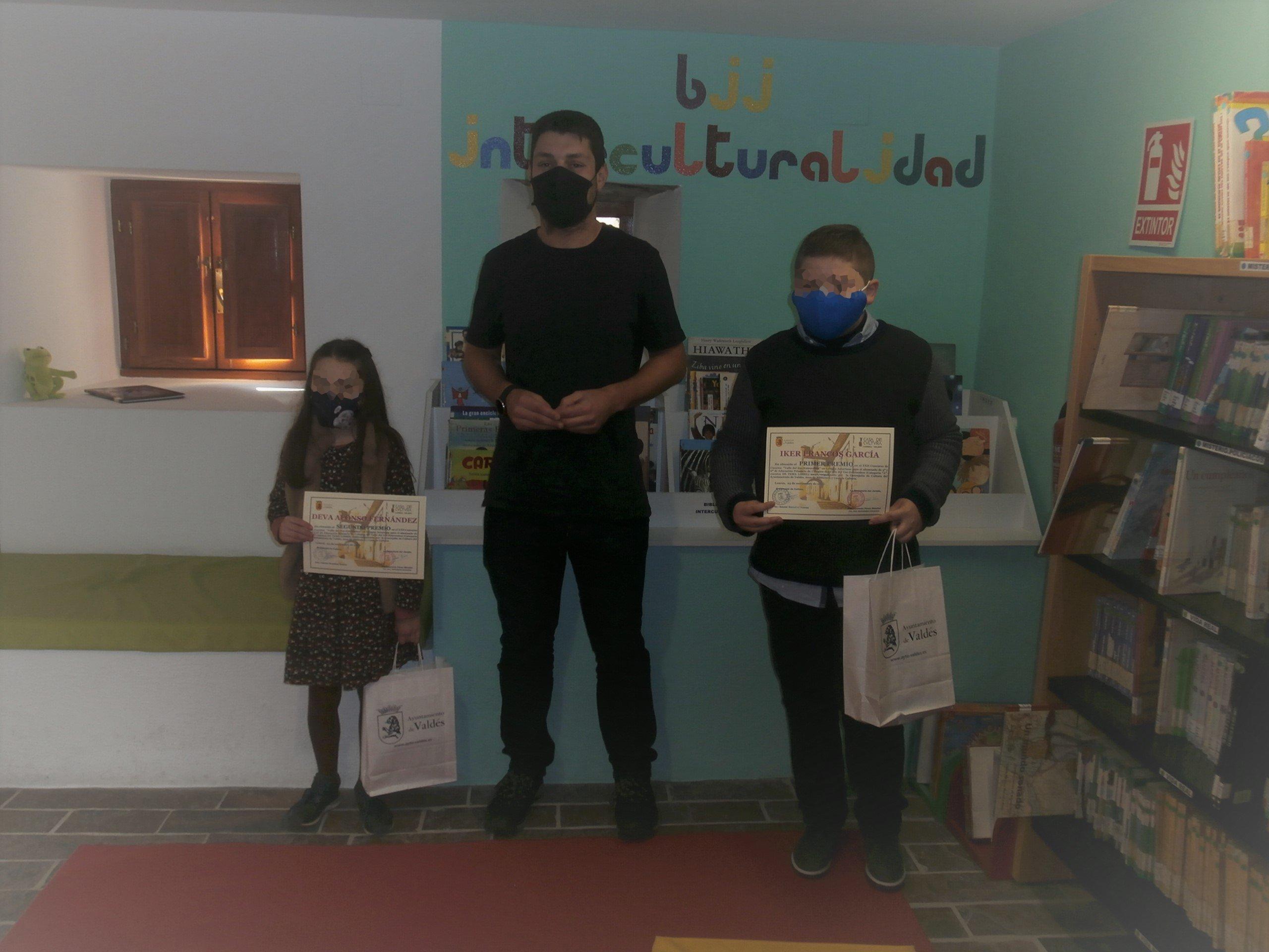 Entrega del Premios del XXII Concurso de Cuentos en Lengua Asturiana Valle del Ese-Entrecabos
