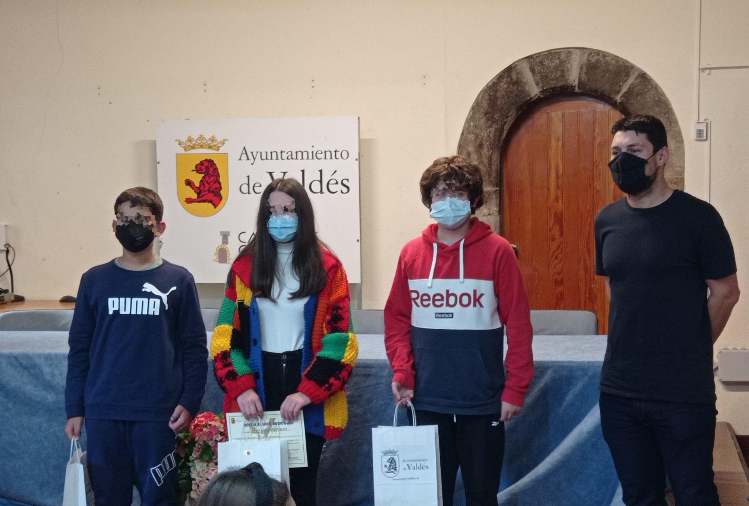 Entrega de Premios del V Concurso de Relatos de Terror de Valdés
