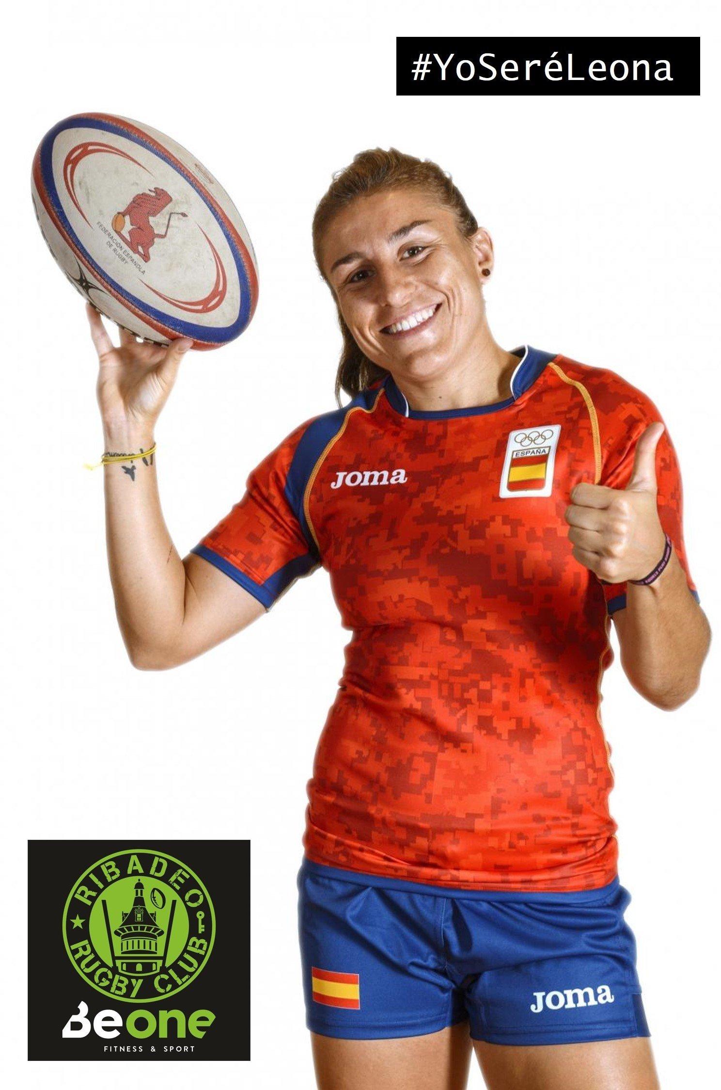 La Internacional María Casado colaborará con el Beone Rugby