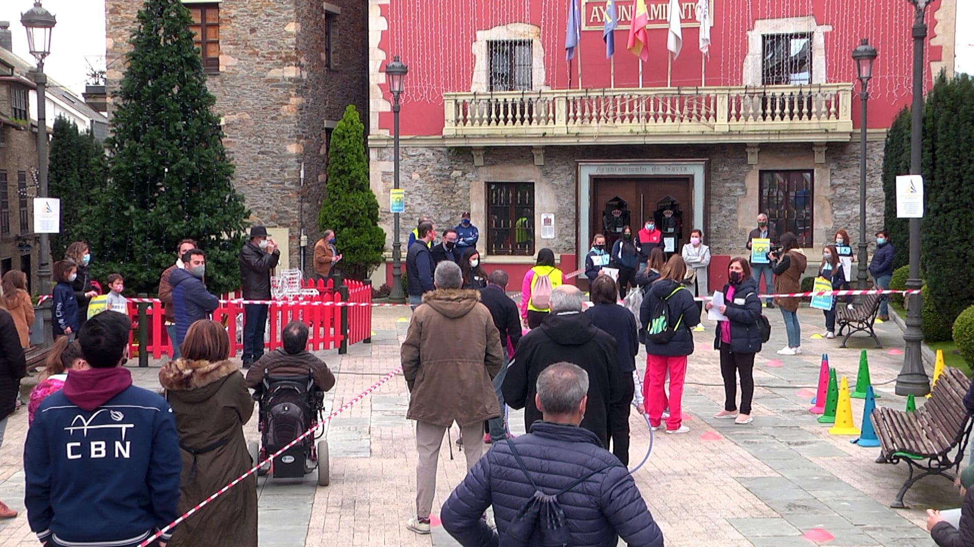Navia acogió una de las nueve Concentraciones de Apoyo al Deporte Base celebradas en Asturias