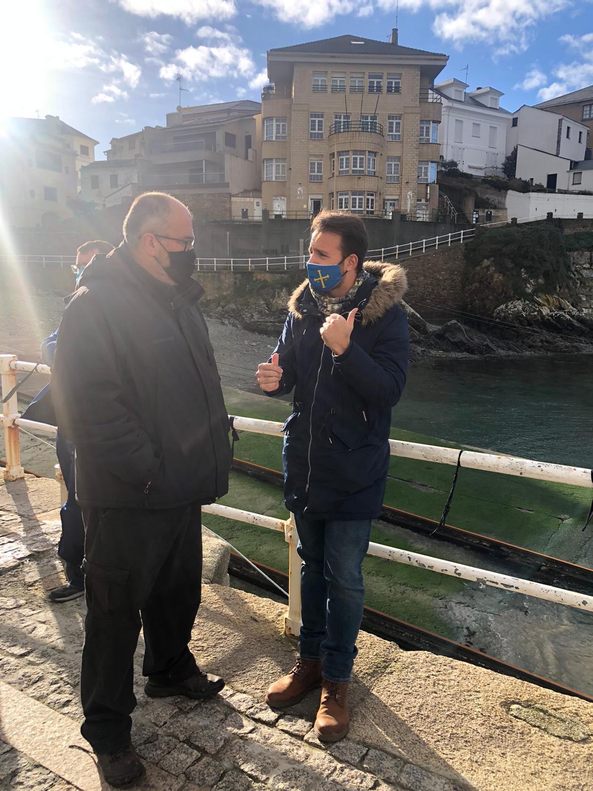 El PP defenderá una enmienda a los presupuestos de medio millón de euros para el puerto de Tapia de Casariego
