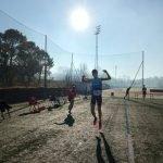 """Brais Garcia (Club Atletismo Ribadeo), oro en el II Control de Marcas """"Vila de Noia"""""""