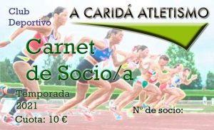 A Caridá Atletismo fija la fecha del 3 de Octubre para la VI Carrera San Miguel y continúa con su campaña de Socios