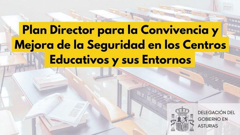 Uno de cada tres centros escolares asturianos se inscribe en el Plan Director para la Convivencia y Mejora de la Seguridad