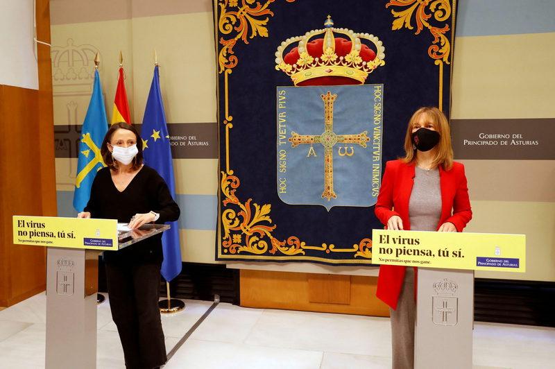 """El gobierno asturiano adoptará nuevas """"medidas rigurosas, contundentes y proporcionadas"""" ante la tercera ola de covid-19"""