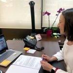 El alcalde de San Tirso traslada diversas propuestas a la consejera de Derechos Sociales