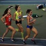Cuatro atletas del Club Toscaf Recta Final en el I Control Autonómico de Pista Cubierta