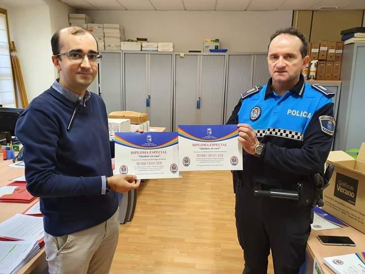 """""""Puchi"""" dice adiós a Cangas del Narcea tras más de 24 años como agente de la Policía Local"""