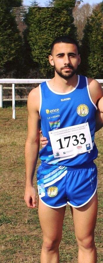 Diego Nogueiro (CAO Navia), convocado por Asturias para el Nacional de Campo a Través