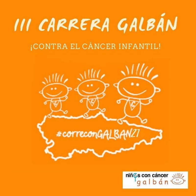 Galbán amplía el plazo para inscribirse en la III Carrera Virtual contra el Cáncer Infantil
