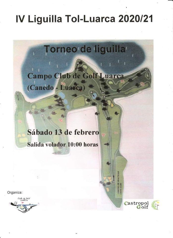 Torneo Liguilla de Golf Tol-Luarca este sábado en el Campo de Canedo (Otur)