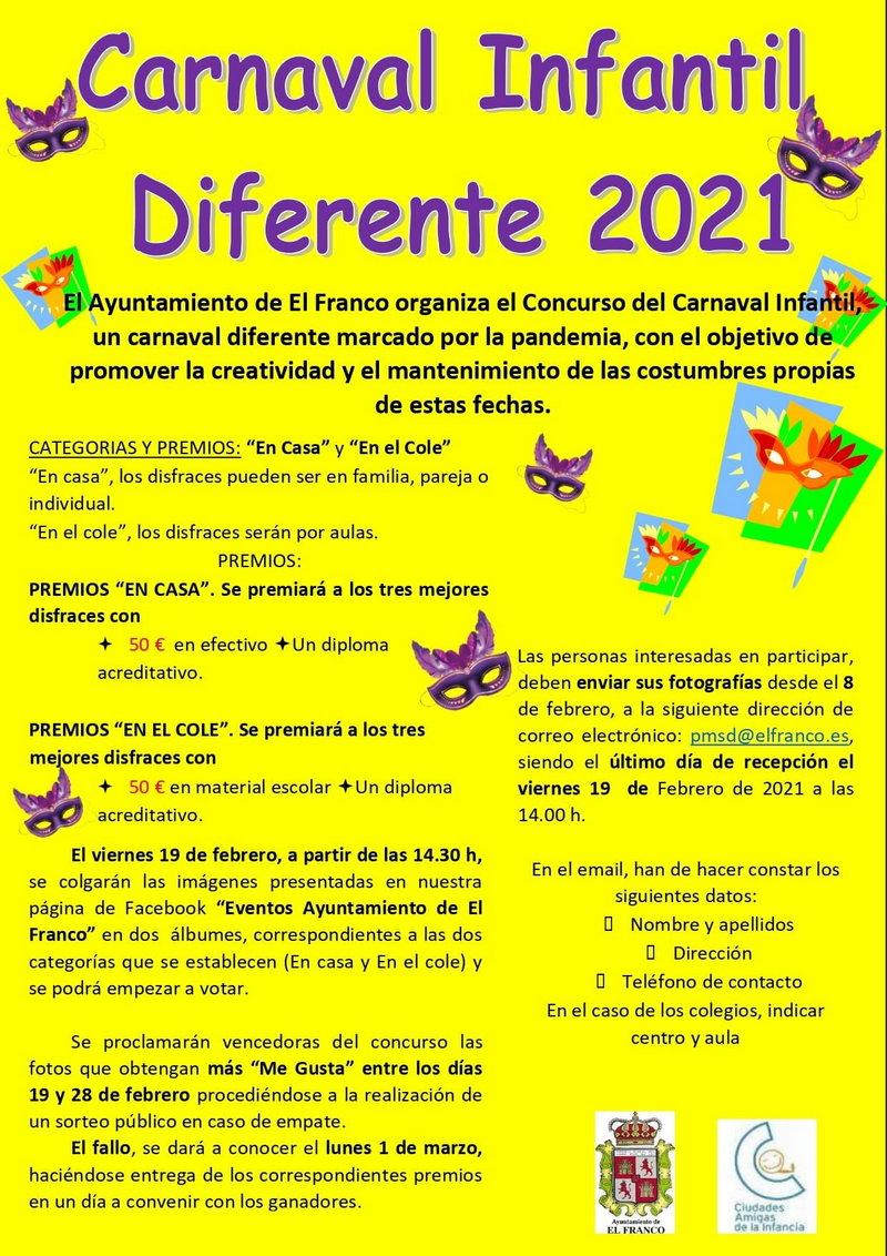 Un Carnaval Infantil Diferente en El Franco