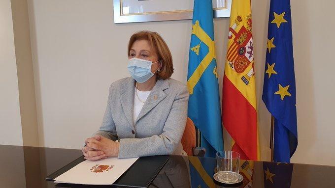 """Delia Losa: """"A pesar de la pandemia y de no contar con Presupuestos propios, el Gobierno cumplió con Asturias en 2020"""""""