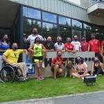 Juan Pablo Barcia, en la Concentración del Equipo Nacional Paralímpico de Remo