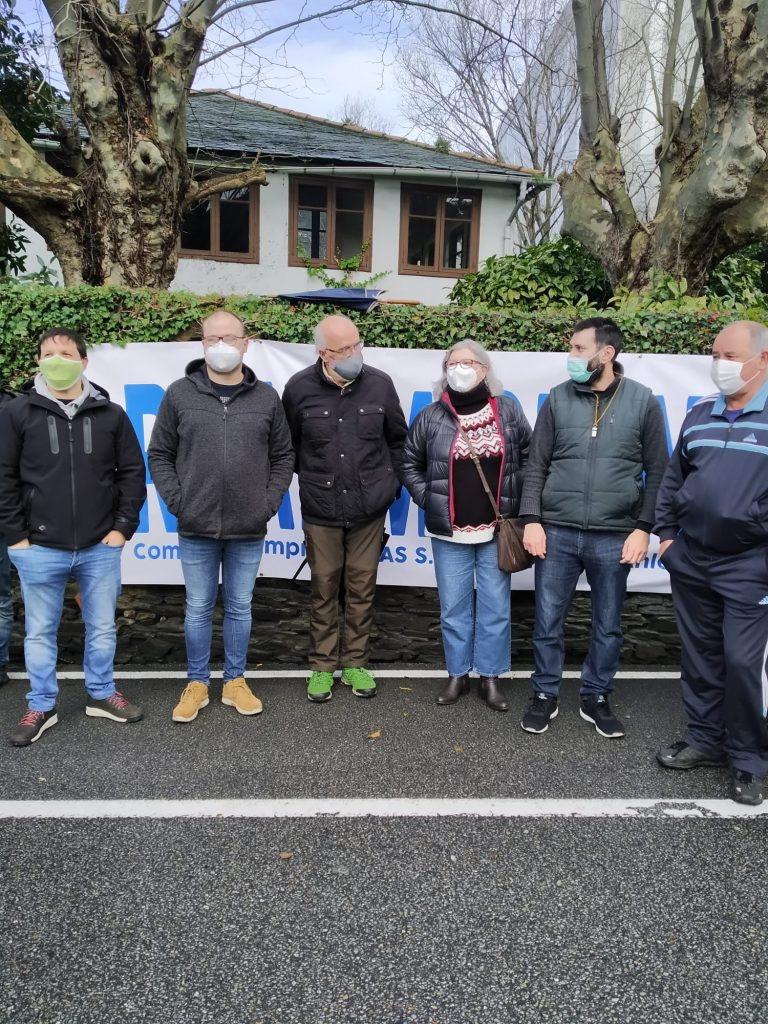 Los/as trabajadores/as de Reny Picot van a la huelga para exigir la readmisión de un compañero