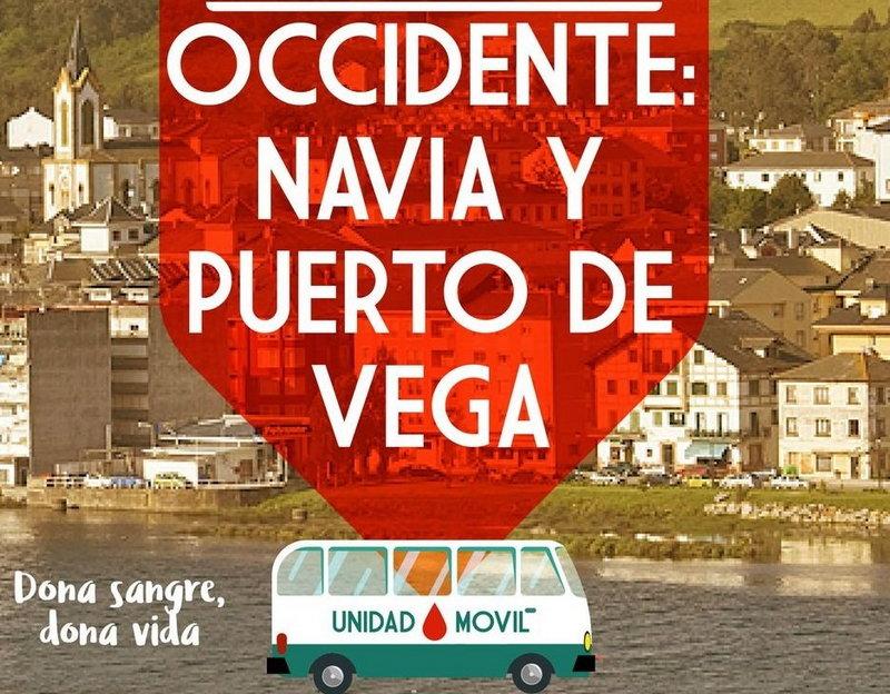 146 Donaciones de Sangre en Navia y Puerto Vega en las últimas Extracciones