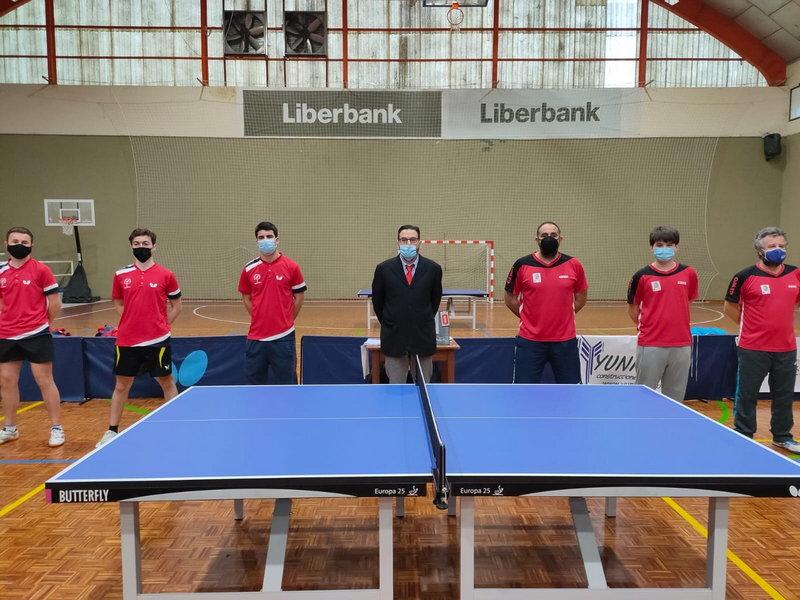 Empate del Luarca Tenis de Mesa en los partidos frente a los dos equipos Cántabros