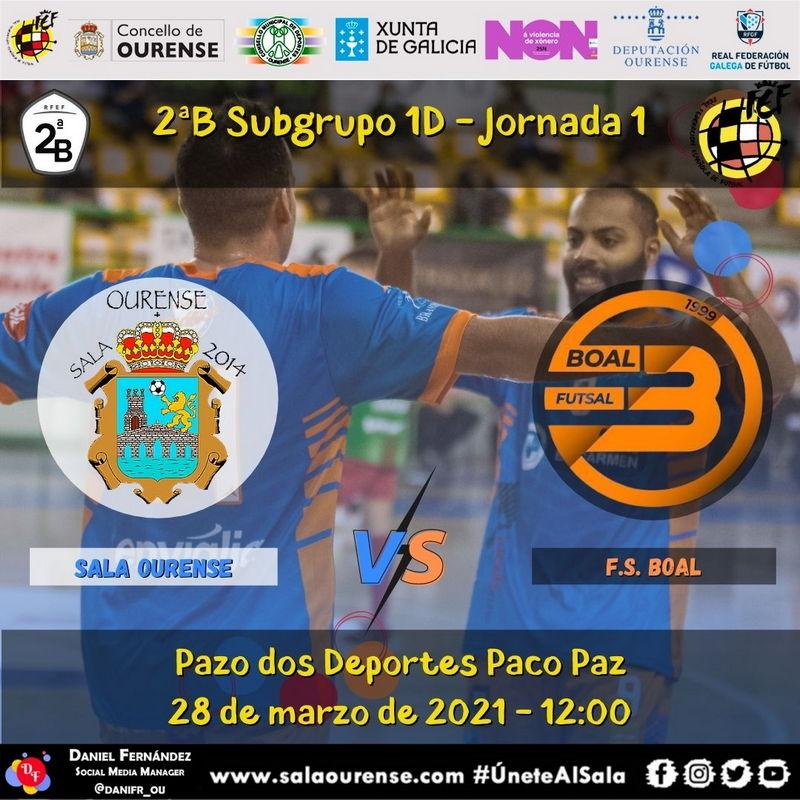 Boal FS inicia la fase de permanencia el próximo domingo en Orense
