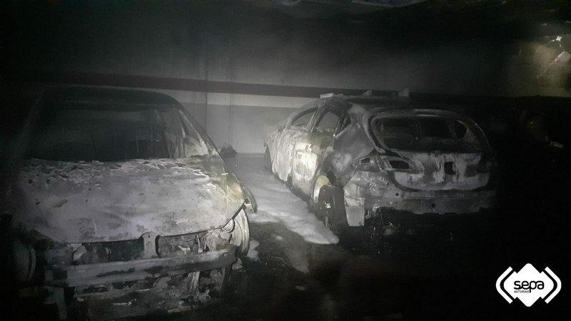 Extinguido un incendio en Navia