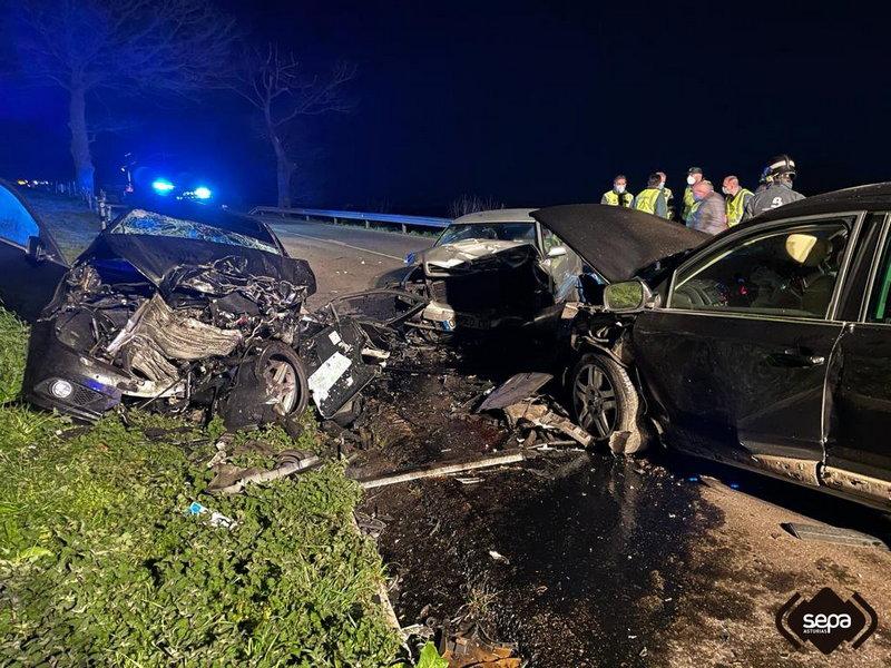 Accidente de Tráfico con fallecida en la noche de ayer en Tineo
