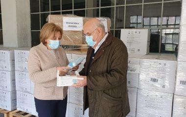 La Delegación del Gobierno en Asturias distribuye 288.000 mascarillas entre ayuntamientos y entidades sociales
