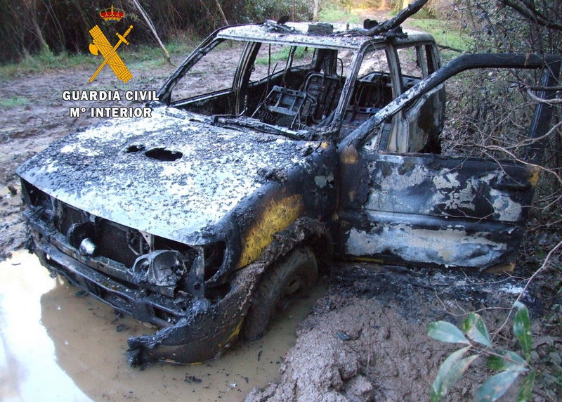 La Guardia Civil detiene a los autores del robo de vehículos a los que ocasionaban grandes daños.
