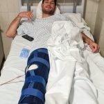 José Antonio López (Gijón Basket), operado de su grave lesión de rodilla