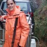 Natalia García cierra su primera temporada de Jabalí con nueve ejemplares