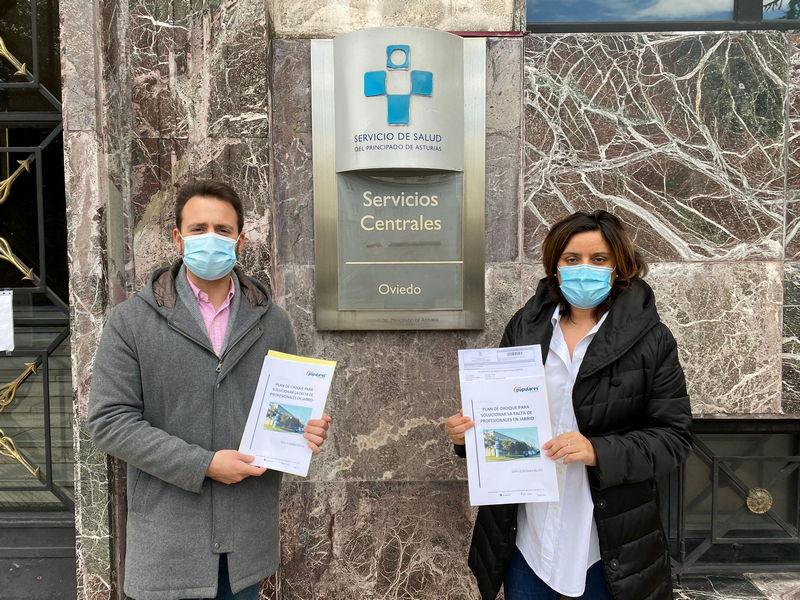 El PP registra en el Sespa el Plan de choque para el Hospital Comarcal de Jarrio