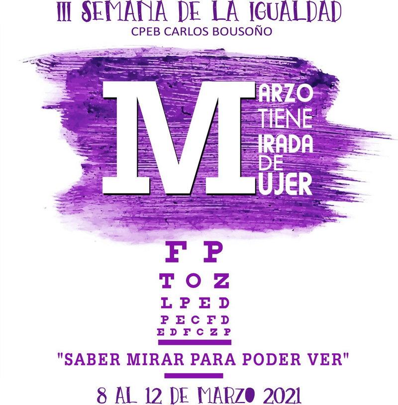 III Semana de la Igualdad en el CPEB Carlos Bousoño de Boal