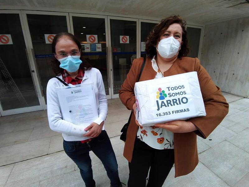 """Mar Villanueva (Todos Somos Jarrio): """"hay que luchar porque el Hospital de Jarrio vuelva a ser lo que fue en sus inicios"""""""