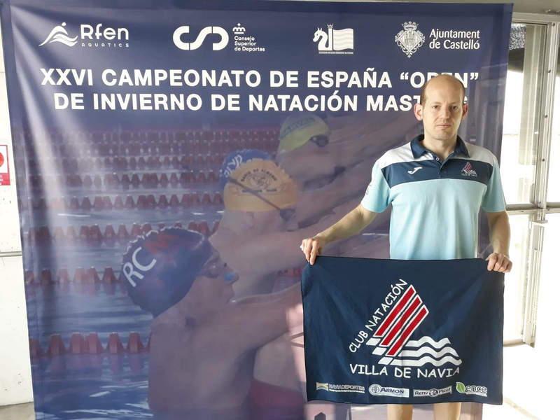 Buena actuación del nadador Alejandro Suárez en el Campeonato de España de Invierno Máster.