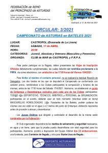 Castropol acoge este sábado el Campeonato de Asturias de Bateles