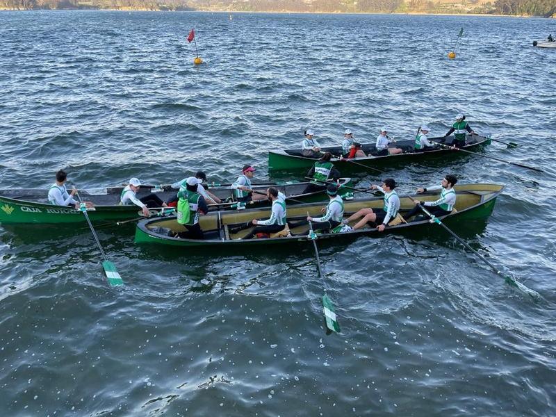 Triunfo del Club de Mar de Castropol en el Campeonato de Asturias de Bateles