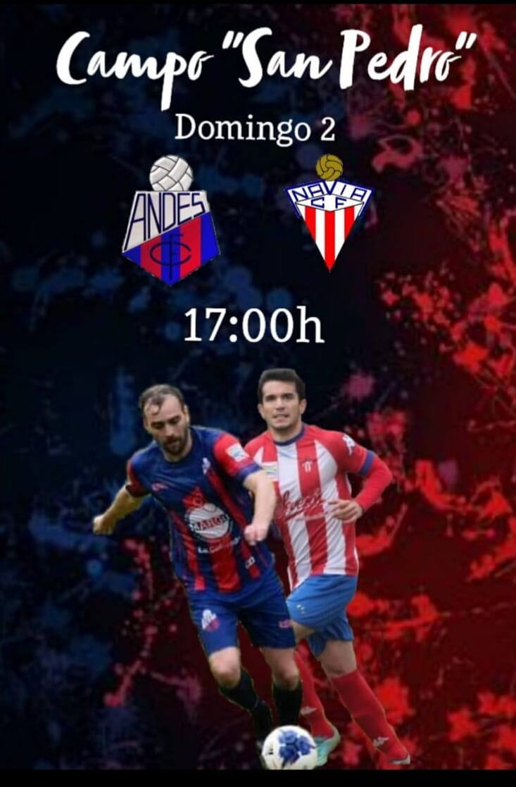 """El """"derbi"""" Andés CF-Navia CF se disputa este domingo, a las 17 horas, en San Pedro"""
