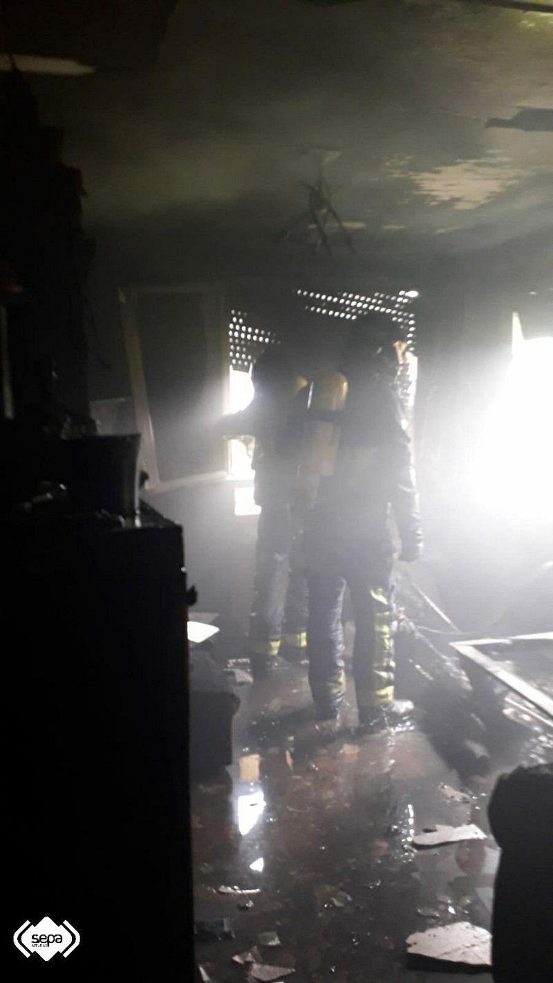 Sofocado un Incendio Urbano en Salas