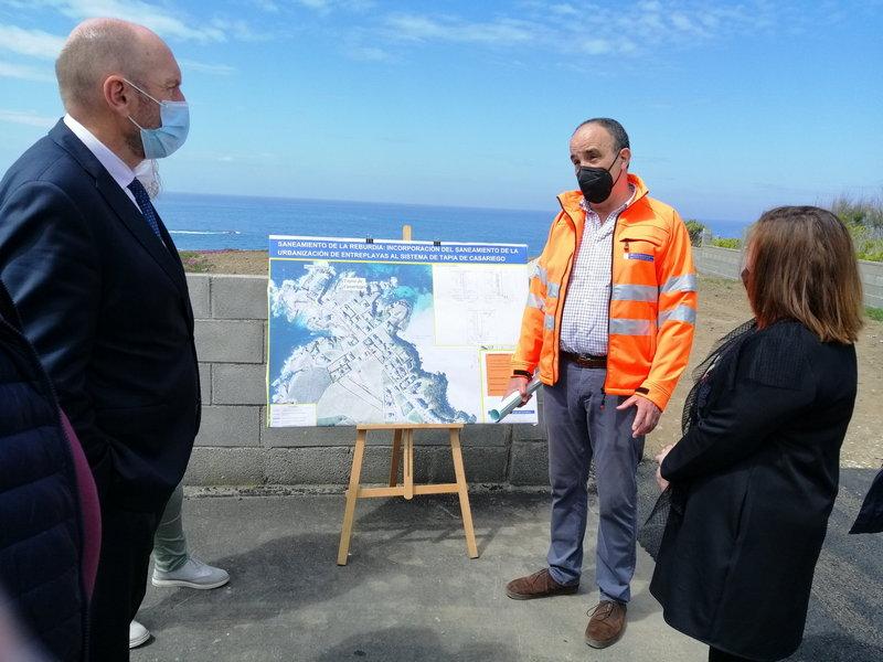 Este año comenzarán proyectos de saneamiento para Puerto de Vega, Anleo, Vegadeo y Trevías