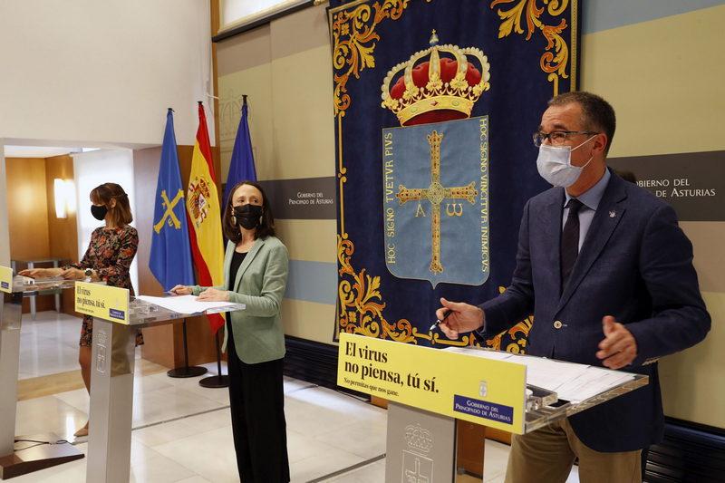 El Gobierno de Asturias autoriza el convenio con el Ministerio de Hacienda que permitirá movilizar 107,7 millones más para los sectores afectados por la pandemia