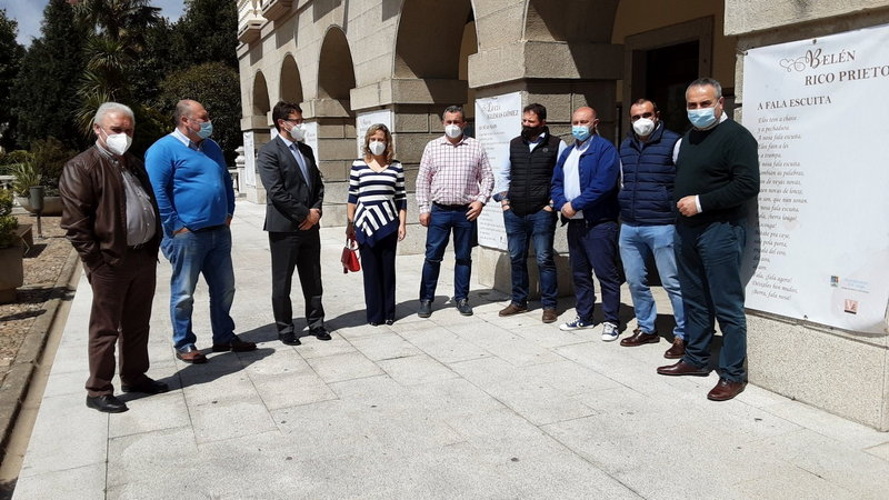 """Alcaldes de Oscos-Eo """"más tranquilos"""" tras la reunión con el consejero de Industria"""