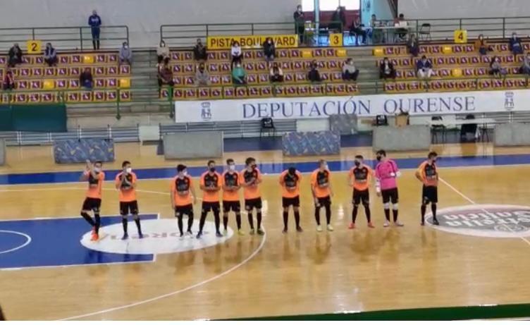 Derrota del Boal FS ante el Leis Pontevedra (1-6)