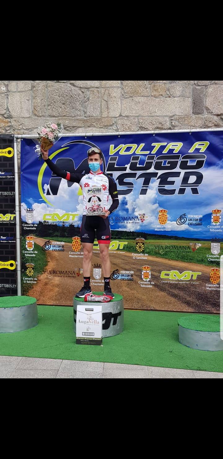 """Pablo García (Ciclista Máster Luarqués): """"Comencé a correr ya siendo veterano tras ver un reto solidario de unos compañeros de trabajo"""""""