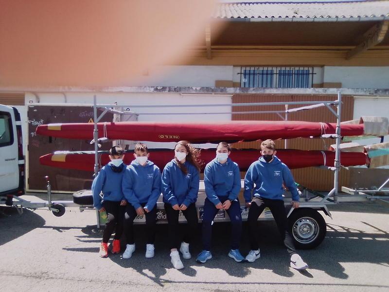 Cinco Palistas del Club Albiones al Nacional Jóvenes Promesas de Bañolas (Gerona)