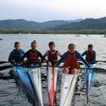 Buen papel de los palistas naviegos en el Nacional Jóvenes Promesas disputado en Bañolas