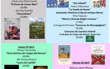 Darío Rodríguez M. y Ángela Rodríguez F. ganan el XX Concurso de Marcapáginas de Cangas del Narcea