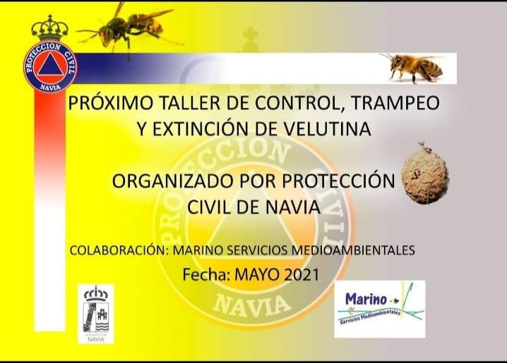 Protección Civil de Navia organiza un Curso de Trampeo de Velutina