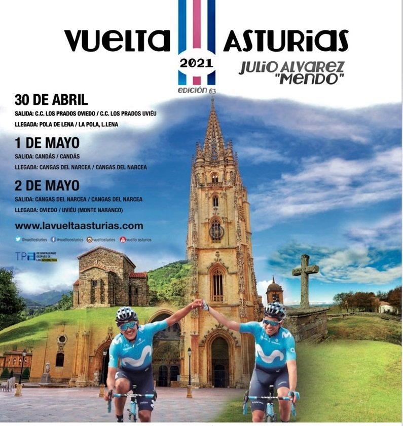 La Vuelta Ciclista a Asturias recorrerá este sábado el Concejo de Valdés